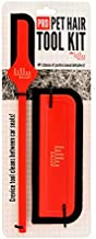 Lilly Brush Pro Pet Hair Tool Kit (for Dog Hair and Cat Hair Embedded in Cars, Carpets, Cat Trees, and Fabrics)