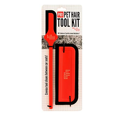 Lilly Brush Pro Pet Hair Tool Kit (for Dog Hair and Cat Hair Embedded in Cars, Carpets, Cat Trees,...
