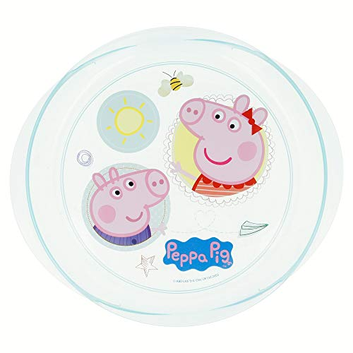 Assiette micro Easy Peppa Pig Core