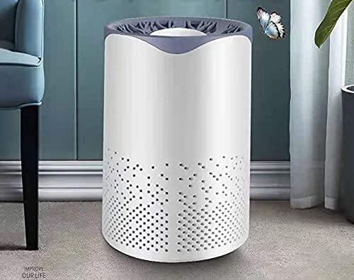 Purificadores De Aire Para Alergias En El Hogar Y Pelo De Mascotas, H13 True HEPA Filtro De Aire Para Dormitorio, Sistema De Filtración De 24 DB Con Fórmula ARC, Elimina 99,97% De Olores, Polen, Humo,