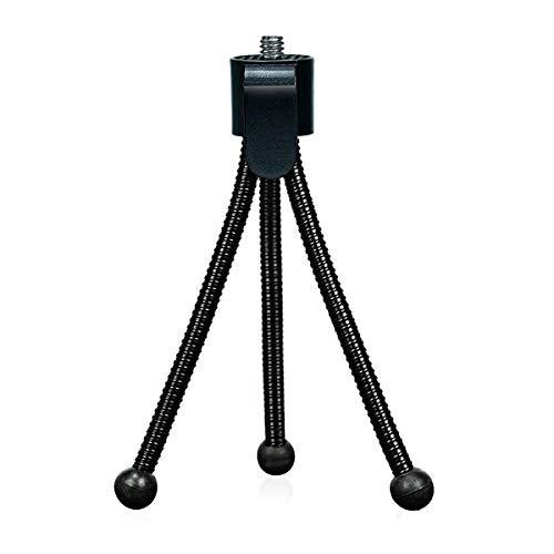 Rexiaoo Webcam Stand,Mini Camera Tripodt Adjustable Lightweight Mini Tripod...