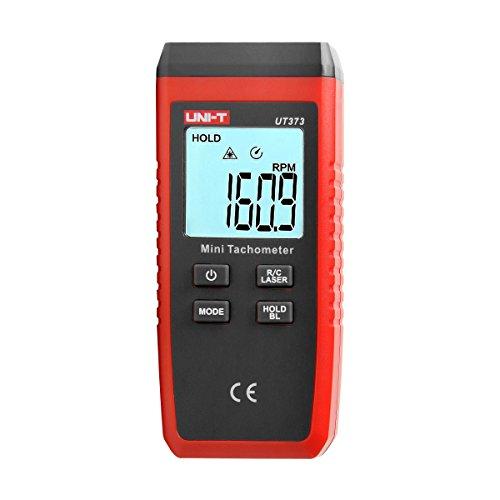 Berührungsloser Drehzahlmesser, UNI-T UT373 LCD Digital Laser Umdrehungsmesser Tachometer
