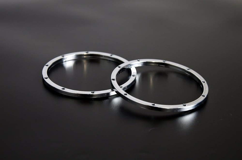 Generic Plastic Chrome Inside beadlocks 2PCS for 1 5 hpi Baja 5b 5t 5sc rc car Parts