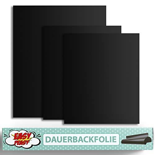 Easy Peasy Premium Dauerbackfolie für den Backofen I Backpapier Zuschnitt wiederverwendbar und plastikfrei Backfolie aus Silikon für Baking Erlebnisse I Backunterlage als Brot backen Zubehör