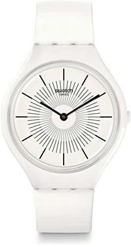 Swatch Reloj Digital para Unisex de Cuarzo con Correa en Silicona SVOW100