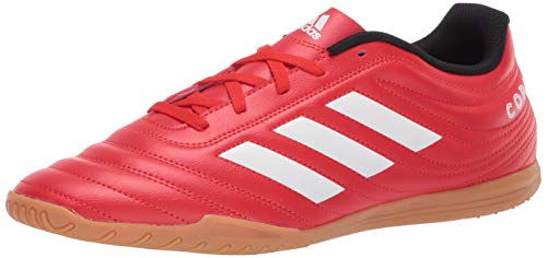 adidas Men's Copa 20.4 Indoor Boots Soccer Shoe, Active red/FTWR White/core Black, 6.5 M US