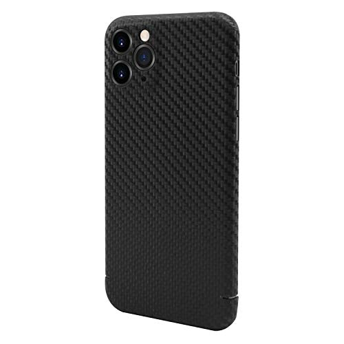 Nevox CarbonSeries Cover für iPhone 11 Pro Max, [High-Tech-Fasern] Carbon, Aramid (Kevlar) und Vectran - Made in Germany -