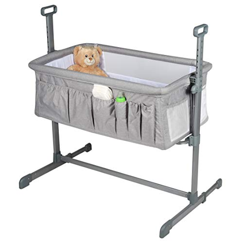 Milliard Bedside Bassinet Side Sleeper/Portable Infant Crib
