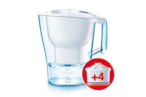BRITA Aluna XL - Jarra de filtro de agua, color blanco