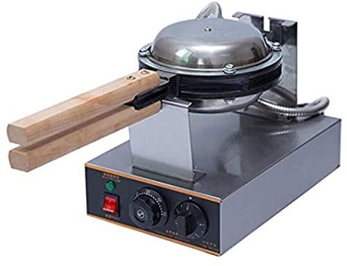 Bubbla Waffle Maker, 1400W Rostfritt stål äggvåffel tillverkare 30pcs Professionell bubbla tårta maskin 50-250 ° C med tidsjusterbar, lämplig för familje restauranger