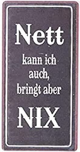 Decorative Fridge Magnet for Home Nett kann ich auch, bringt aber nix 5cm x...