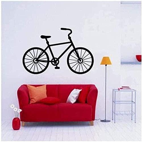 Pegatinas De Pared Calcomanías De Arte Decorativo Decoración Del Hogar Suelo Bicicleta De Montaña Dormitorio Arte Carteles 63X42Cm