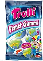 地球グミ 1袋 Trolli PLANET GUMMI トローリ プラネットグミ プラネットグミ [並行輸入品]