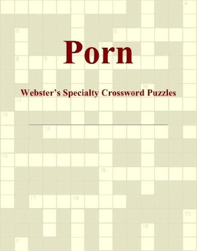 Porn - Webster's Specialty Crossword Puzzles