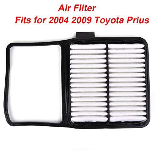 1pc Auto Air Filter Pannello rigido Cover Auto Non tessuto parti per Toyota Prius 04-09