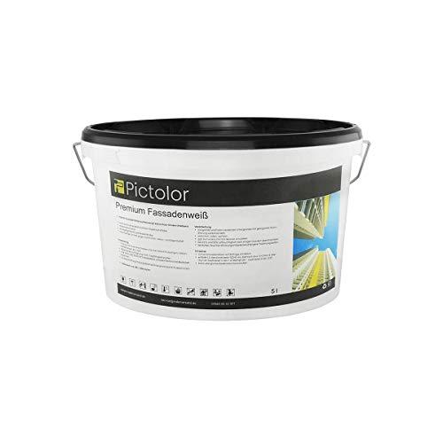 Pictolor Premium Fassadenweiß 5 Liter