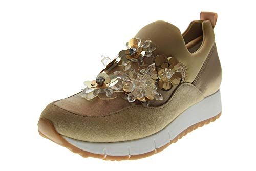 Liu Jo Scarpe Donna Sneakers Senza Lacci B19021 TX034 Gigi 03 Elastic Sock Taglia 39 Beige