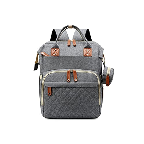 PUUJ Large Capacity Multifunctional Mommy Bag Waterproof Fashion Wearable Shoulder Bag Can Be Folded. 0520 (Color : D)