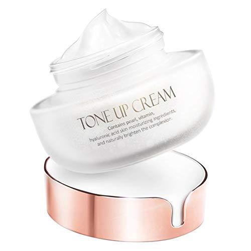 Allbestaye Tone Up Cream Toning Light Cream Moisturizer Naked Nude Makeup Concealer Hydrating Cream