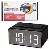 Best Iphone Alarm Clock Docks - ModernHomeMaker Alarm Clock with Wireless Charging Dock Review
