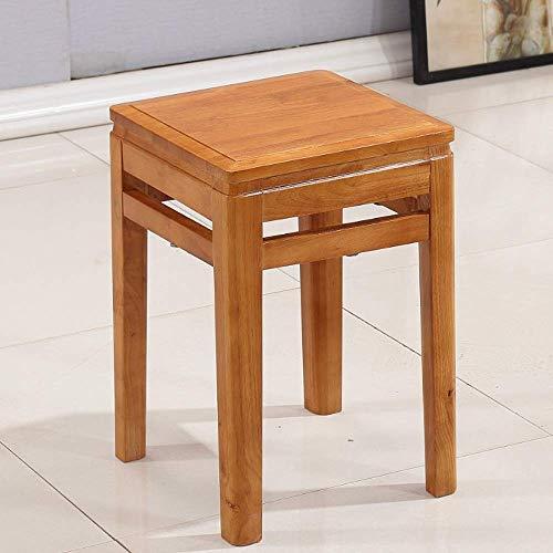 Draagbare bodem van massief hout, voor bank, stoel, huishoudstoel, kleine van hout, schoenen om te wisselen, bank, make-up, tafel, bankkoel, kruk voor kinderen, voor huis, woonkamer, slaapkamer, keuken