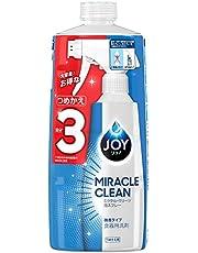 ジョイ ミラクルクリーン 泡スプレー 食器用洗剤 微香タイプ 詰め替え 3回分