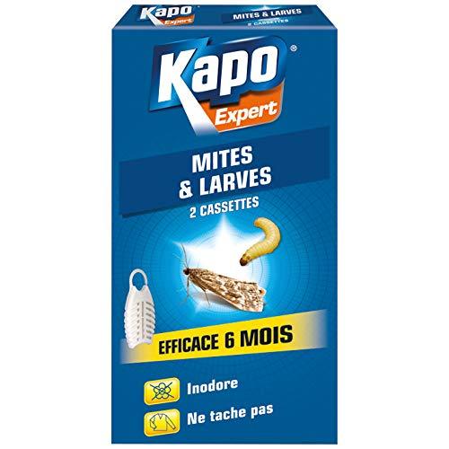 kapo - pièges anti mites et larves de mites des vêtements