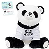 Panda Stuffed Animal - The Original You are Pawesome Large Panda Plush Animals Toy. Panda Gifts w/ Removable Shirt for Birthdays, Valentines or Christmas. Cute, Fun, Soft, and Pre Wrapped!