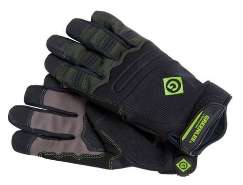 Greenlee 0358-14L Tradesman Gloves, Black, Large