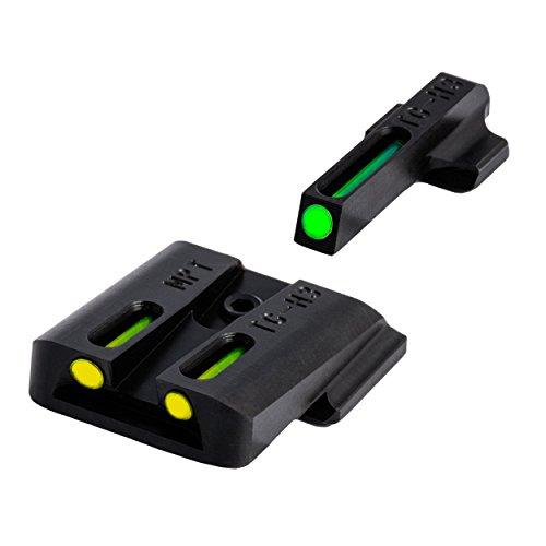TRUGLO TFO Tritium and Fiber-Optic Handgun Sights for Smith & Wesson Pistols