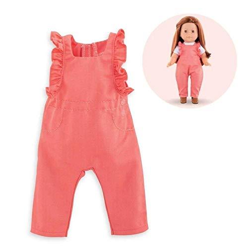 Corolle- Salopette pour poupée Vêtement, 211360, Rose