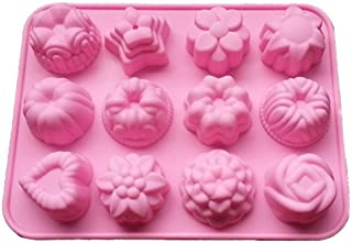 Doitsa クッキー型 抜き型 チョコレート 製菓 キッチン 果物 手作り DIY 可愛い 花15個