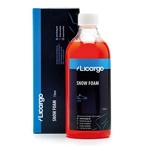 LICARGO® Premium Snow Foam (750ml) - kraftvolle Vorwäsche mit dichtem Schaum - entfernt hartnäckigen Schmutz gründlich - Snow Foam Shampoo, Auto Schaumreiniger, AutoShampoo Foam
