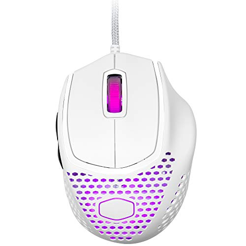 CoolerMaster 超軽量つかみ持ちゲーミングマウス MasterMouse MM720 White MM-720-WWOL1 MS464