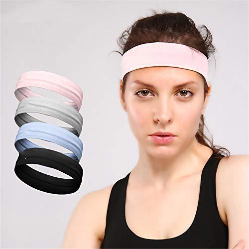 MOKEANGC Sport hoofdband hardlopen mannen en vrouwen yoga anti-slip siliconen riem zweetabsorberende haarband zweet gids anti-transpirant riem