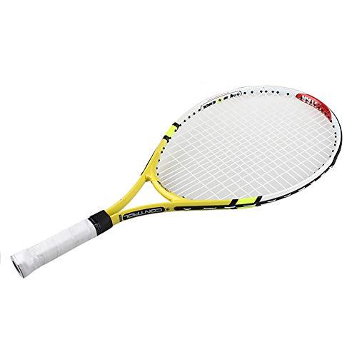 LMSDALAO Raqueta de Tenis Raqueta de Entrenamiento de Raqueta de Tenis Junior para Raquetas de Tenis para niños 1 Piezas