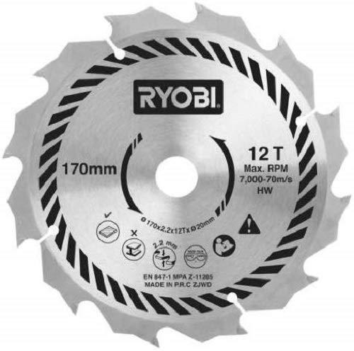 Ryobi CSB170A1 Cirkelzaagblad voor alle 170 x 20 mm Cirkelzagen, 170 mm