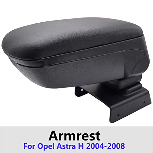 para Opel Astra H 2004-2008 Coche Apoyabrazos Caja De Almacenamiento Consola Central...