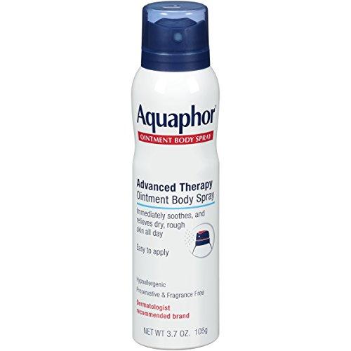Aquaphor Ointment Body Spray - Moisturizes and Heals Dry, Rough Skin - 3.7 oz. Spray Can