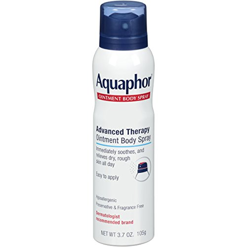 Aquaphor Ointment Body Spray – Moisturizes and Heals Dry, Rough Skin – 3.7 oz. Spray Can