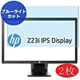 【2 Pack】 Synvy Anti Blue Light Screen Protector for HP Z23i Monitor D7Q13A4#ABJ 23' Anti Glare Screen Film Protective Protectors [Not Tempered Glass]