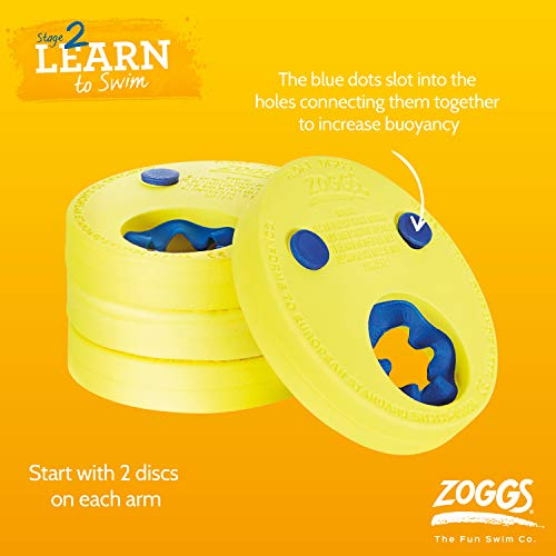 Zoggs Kids Float Discs Learn To Swim Arm Band
