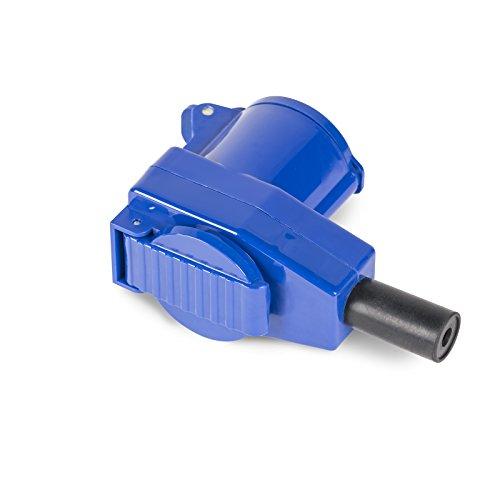 Siehe Beschreibung Winkelkupplung 230V / 16A für Reisemobile, Verkaufsständer, Boote, etc. • Euro CEE Stecker Campingstecker Caravanstecker Strom Adapter