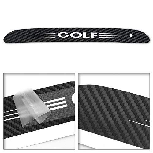 Adatech Golf Vinyl-Aufkleber, Gloss, Bremslicht, Licht, Kohlefaser, wasserdicht