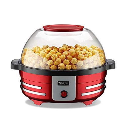 %38 OFF! WEIZI Household 5L Small Popcorn Machine Automatic Electric Fat-Free Popcorn Machine 850W S...