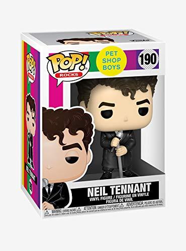Funko POP Rocks: Pet Shop Boys - Neil Tennant Figura da Collezione, Multicolore, 41207