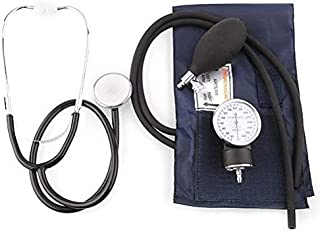 مراقبة ضغط الدم الكفة سماعة الطبيب عدة السفر مقياس ضغط الدم مع الحقيبة