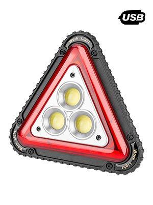 Guiseapue LED Arbeitsleuchte Werkstattlampe USB Wiederaufladbare Inspektionsleuchten Tragbar Outdoor Flutlicht,4 Modi COB Flutlicht Camping Lichter für Yard Garage Angeln Wandern