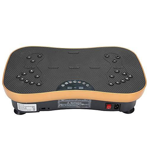 TRF Cuerpo Entero Plataforma vibratoria, Shaker Máquinas de Ejercicios con Control Remoto - 0-99 Ajustable, Bluetooth reproducción de música - para Mantenerse en Forma, Lose Weight Hogar