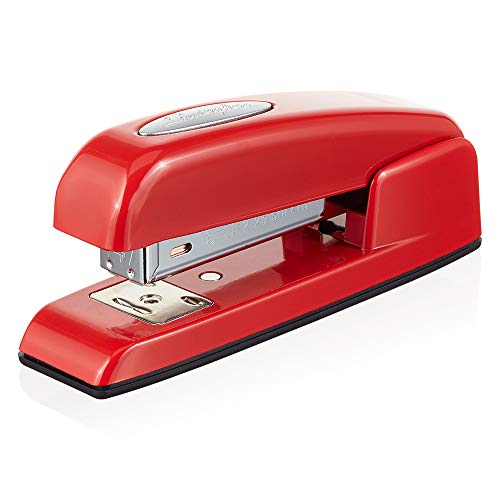 Swingline Stapler, 747 Half Strip Business Stapler, 25 Sheet Capacity, Red (S70747102)
